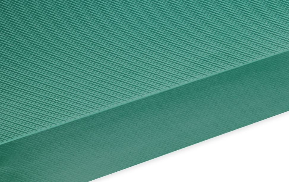 PVC - Groen RAL 6026 - 1 inlage polyester