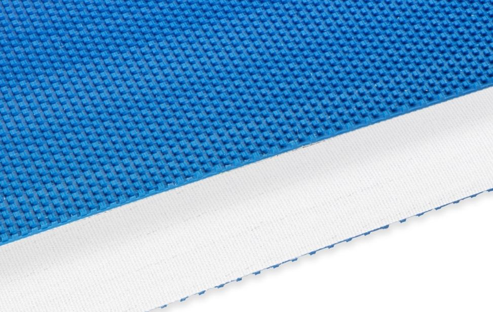 PVC - Blue - 1 ply polyester